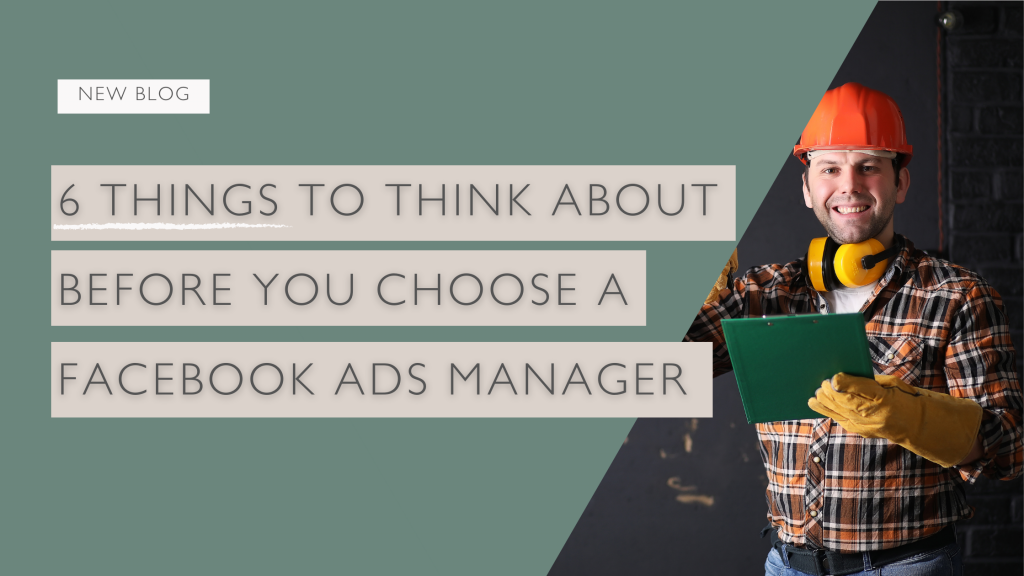 Facebook Advertising Manager