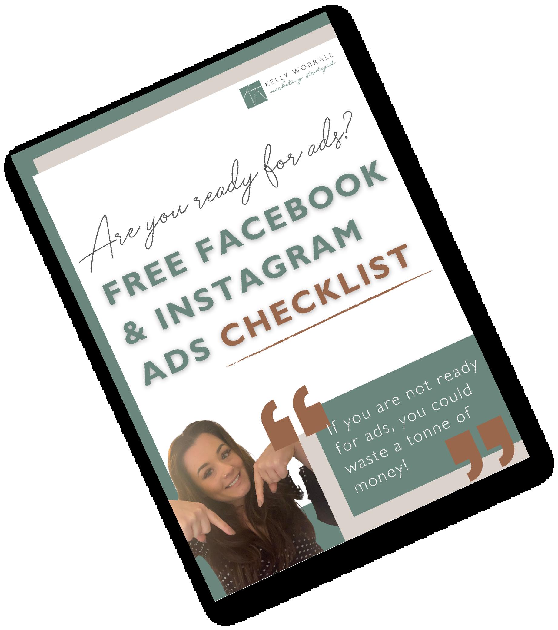 Free Facebook And Instagram Checklist
