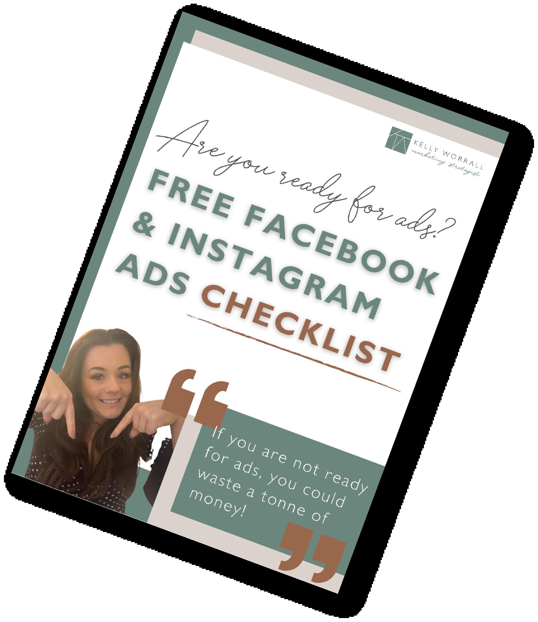 Facebook And Instagram Ads Checklist