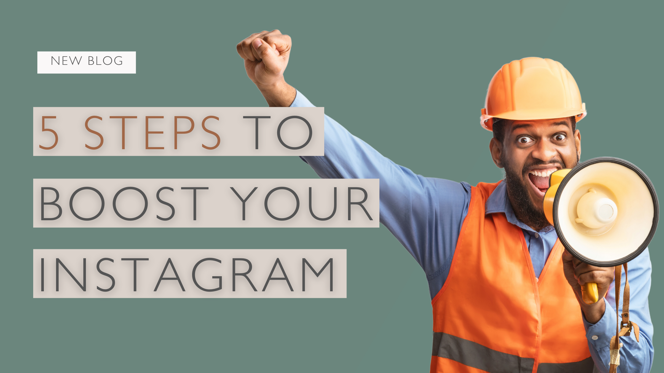 5 steps to grow your Instagram