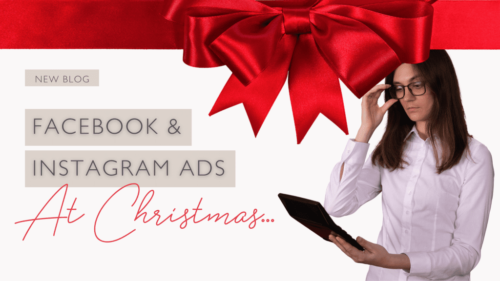 Facebook ads at Christmas